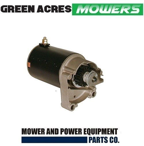Ride On Mower Starter Motor For Briggs And Stratton 14 18 Hp