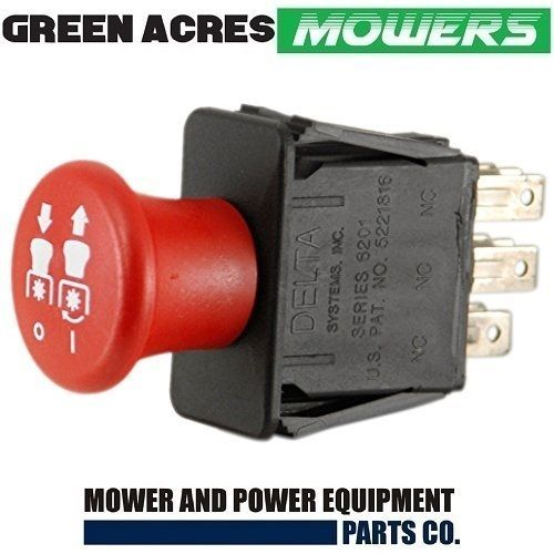 Greenfield Idler Pulley Belts: PTO SWITCH FOR HUSTLER MOWERS 776476