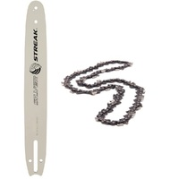 NEW BAR AND CHAIN COMBO FITS SELECTED 18 INCH JOHN DEERE CHAINSAWS 68 3/8 058