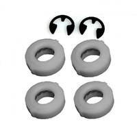 WHEEL BEARING AND E CLIP KIT FITS MOST VICTA WHEELS PRE 1997    CH80782A