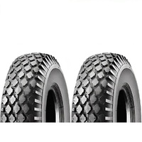 2 x CTS TYRES 12 x 410/350 x 6 FOR RIDE ON MOWERS