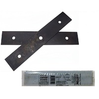 GENUINE ATOM EDGER BLADE SET FITS ALL RED AND GREEN PETROL MODELS 43105 , 43089