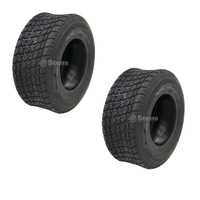 2 x CTS MOWKU - CS101 4 PLY TYRES 13 x 500 x 6 FOR RIDE ON MOWERS
