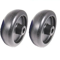 2 X DECK WHEELS TO FIT SELECTED TORO AND JOHN DEERE MOWERS    M89339   701756
