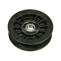 RIDE ON MOWER FLAT IDLER PULLET FITS MOST HUSTLER MOWERS 794404