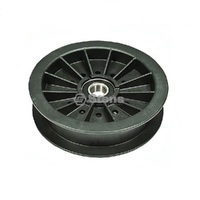 RIDE ON MOWER FLAT IDLER PULLEY FITS MOST HUSTLER MOWERS 784504