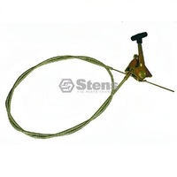 "Ride On Mower Panel Mount Throttle Control & Cable 47 1/2"" Length"