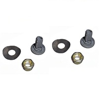 2 X ROVER BLADE BOLTS NUT WASHER FOR SELECTED ROVER LAWN MOWERS A00672K, 000067