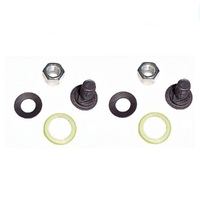 2 X VICTA BLADE BOLTS NUT WASHER FOR SELECTED VICTA LAWN MOWERS   CA09277S