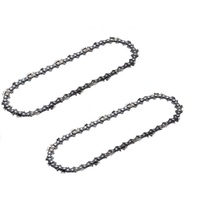 "2 X NEW CHAINSAW CHAIN 10"" 40 3/8LP .050 SUITS BAUMR-AG SX25 WITH 10"" BAR PRO CHAIN"