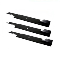 RIDE ON MOWER BLADE SET FOR 61 INCH BOB CAT MOWERS OEM 112111-03