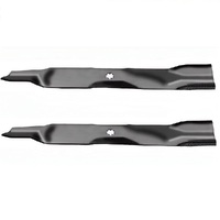 2 X BLADES 42 INCH FOR JOHN DEERE RIDE ON MOWER 7 POINT STAR M154062 M154062