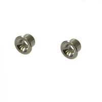 2 x BRASS EYELETS FITS SELECTED LINE TRIMMER  BRUSHCUTTER HEADS 13mm X 10mm