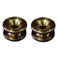 2 x BRASS EYELETS FITS SELECTED LINE TRIMMER  BRUSHCUTTER HEADS 16mm X 10mm