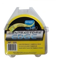 Trimmer Line 3.3mm Contractors Edge 20m (Square cut Cord) Wipper Whipper Snipper