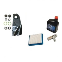 LAWN MOWER BLADES & SERVICE KIT FOR VICTA MOWERS 3.5 TO 6.5 HP BRIGGS QUANTUM