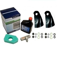 LAWN MOWER BLADES & SERVICE KIT FOR VICTA MOWERS WITH 3.5 TO 4.75 HP BRIGGS