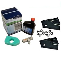 BLADES & SERVICE KIT LATE MODEL ROVER LAWN MOWERS  WITH 3.5 TO 4.75 HP BRIGGS