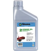STENS 2 STROKE OIL 1LT FOR LAWNMOWER BRUSH CUTTER CHAINSAW TRIMMER
