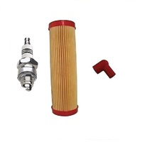 AIR FILTER , SPARK PLUG AND COVER FITS MOST VICTA 2 STROKE MOWERS
