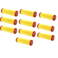 10 X LONG AIR FILTER FOR VICTA LAWNMOWER - 10 PACK  AF07282A