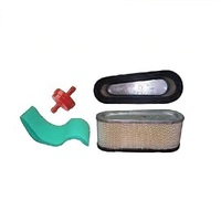 Air Filter & Fuel Filter Kit for Ride On Mower  Briggs and Stratton 496894