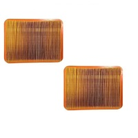 2 x LAWN MOWER AIR FILTER FOR ROVER MOWERS  i4500 i5000 i5500 ,  L180120073-0001