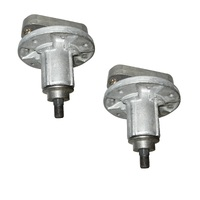 2 X BLADE SPINDLE ASSEMBLY FOR SELECTED L SERIES JOHN DEERE GY20050 , GY20785