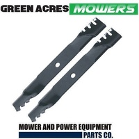 "40"" HEAVY DUTY MULCHING BLADES ROVER & MURRAY RIDE ON MOWER GATOR PREDATOR STYLE"