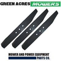 BLADE SET FOR SELECTED 42 INCH BOLENS RIDE ON MOWER