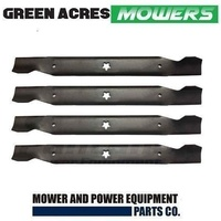 "2  SETS OF 42"" BLADES FOR HUSQVARNA , CRAFTSMAN MOWERS 532 13 84-98 ,138498"
