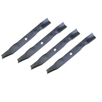 2 SETS RIDE ON MOWER MULCHING BLADES FOR 42 INCH FOR HUSQVARNA CRAFTSMAN POULAN