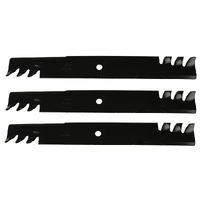"TOOTHED MULCHING BLADES  SELECTED 61"" HUSQVARNA ZTR  MOWERS GATOR PREDITOR TYPE"