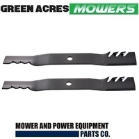 42 INCH TOOTHED MULCHING BLADES FITS SELECTED MURRAY MOWERS   056252E701MA
