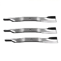 RIDE ON MOWER BLADE SET FOR 48 INCH BOB CAT MOWERS OEM 112111-01