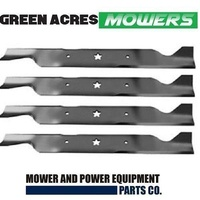 "2 SETS OF 46 "" BLADES FOR HUSQVARNA & CRAFTSMAN MOWERS 4 X BLADES 532 40 53 80"