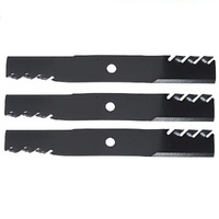 "TOOTHED MUCHING BLADES 60"" FOR HUSTLER DIXON RIDE ON MOWER GATOR PREDITOR TYPE"