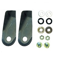 "2 x BLADES SETS FOR SELECTED 18"" JET FAST / SUPA-SWIFT LAWN MOWERS"
