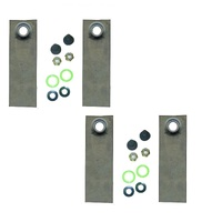 "2 x BLADE SETS FOR JETFAST / SUPA-SWIFT BIG BOB & COX WORKMAN 21"" LAWN MOWERS"