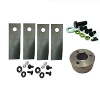 "BLADES AND BLADE BOSS KIT FOR ROVER LAWN MOWERS A01118K FITS SELECTED 18 AND 20"" CUT"