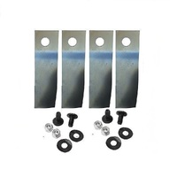 "LAWNMOWER BLADE KIT FOR 18"" ROVER & SCOTT BONNAR LAWN MOWERS 2009 ONWARDS"