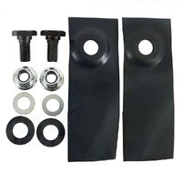 "2 X BLADES FOR 18"" MASPORT & MORRISON MOWERS 529594 800658 780658"