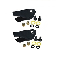 "LAWN MOWER BLADES VICTA FITS SELECTED 18"" MULCH AND CATCHER FROM 1998  CA09434S"