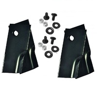 LAWN MOWER BLADES FOR TALON LAWN MOWERS 4 X BLADES AND BOLT  KITS