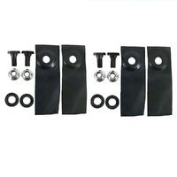 "LAWN MOWER BLADE KIT FOR 19"" MASPORT & MORRISON MOWERS  783310"