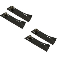 BLADES FOR SELECTED ROVER PRO CUT 560 MOWERS 4 X BLADES & BOLTS  74204413