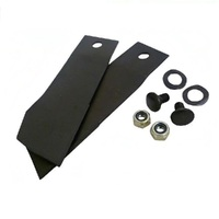 RIDE ON MOWER BLADE KIT FOR  28 , 30 , 32 & 34 INCH GREENFIELD MOWER GT2139