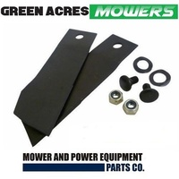 "BLADE KIT FOR GREENFIELD 28 & 30"" MOWERS  GT2137 , GT894"