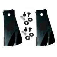 "2 PAIRS 30 & 38"" ROVER RIDE ON MOWER BLADE KIT FITS replaces A07873 , A0673K , AO673K"