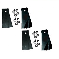 2 PAIRS SETS RIDE ON MOWER BLADE KIT FOR ROVER RIDE ON MOWERS A07873 A01656